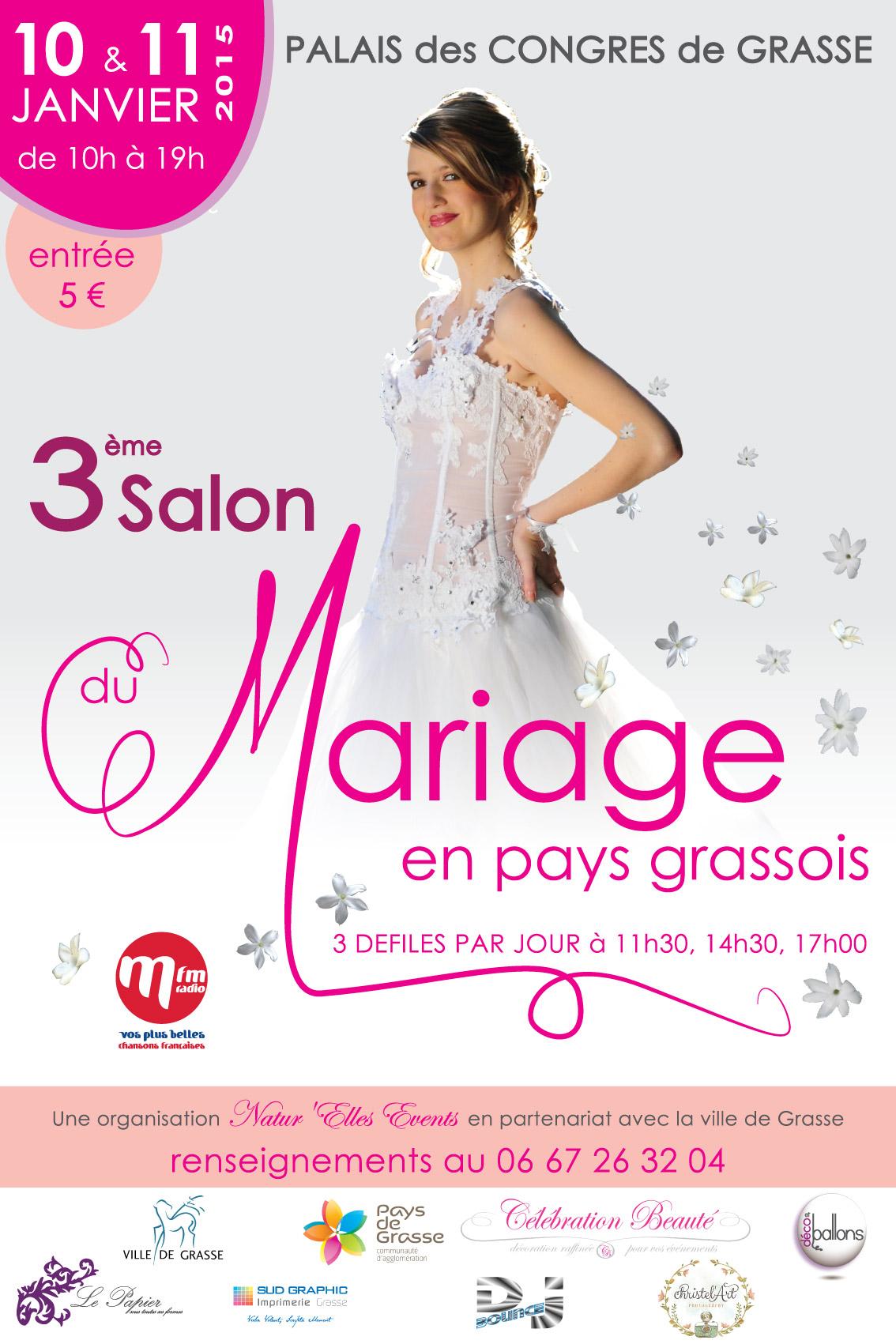 Salon du mariage de grasse autour d 39 un r ve - Salon du mariage caen 2015 ...